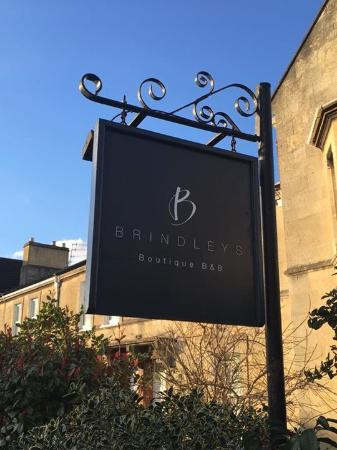 Brindleys Boutique Bed & Breakfast Hotel: B&B sign