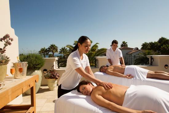 Goleta, Kalifornia: Rooftop Massage at The Spa at Bacara