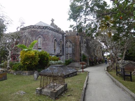 Saint John Parish, Barbados: The church from the graveyard.