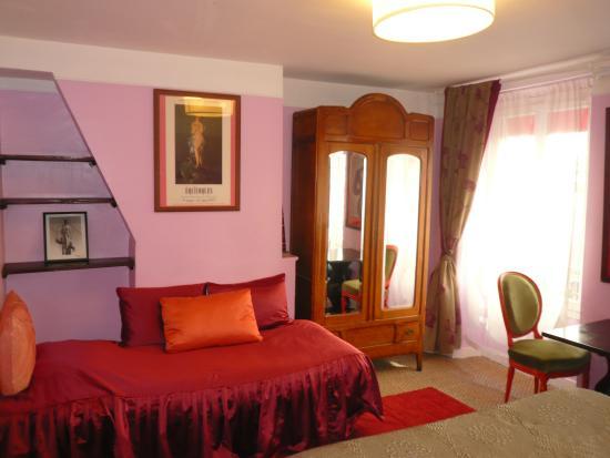 Hotel Eldorado: Une chambre de l'hôtel Eldorado