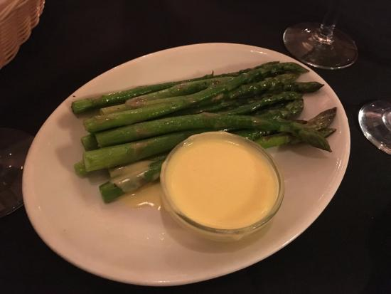 New York Grill: asparagus side dish