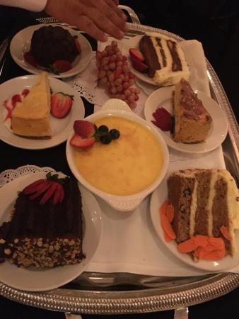 New York Grill: dessert choices