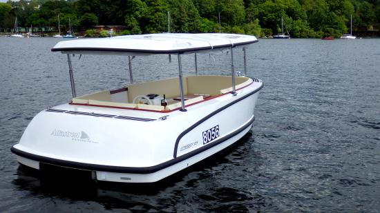 Bowness Bay Marina - Windermere Boat Hire: 'Michelle' is available to hire, Minimum of 2 hours hire from just £59