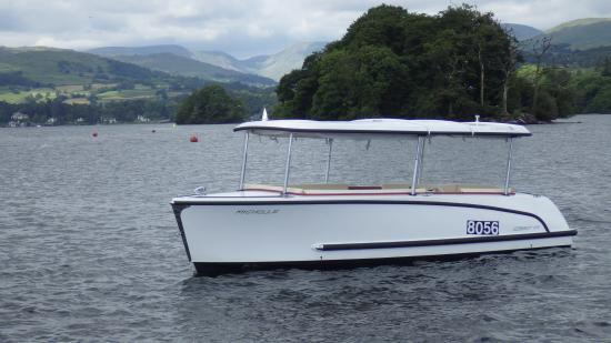 Bowness-on-Windermere, UK: Enjoy Windermere in comfort with your very own boat for the day