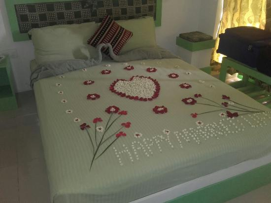 Thekkady Spice Valley Holiday Hotel : Flower Bed