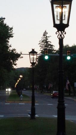 Wellsboro Inn on the Green: The Town