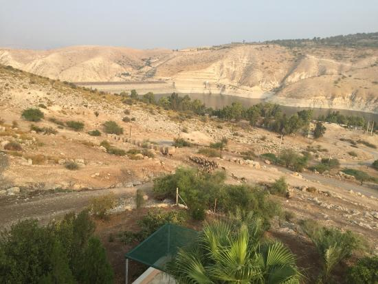Irbid, Jordania: view from the room
