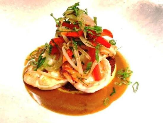 Paris, فيرجينيا: Shrimp and Grits