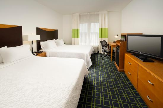 Fairfield Inn & Suites Chattanooga I-24/Lookout Mountain: Comfortable Two Queen Bedroom