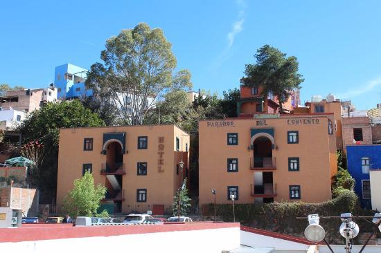 Parador del Convento: Vista desde la Calle