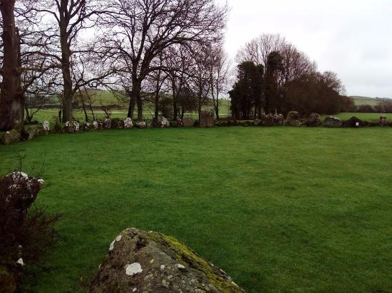 County Limerick, Irlande : Lough Gur stone circle