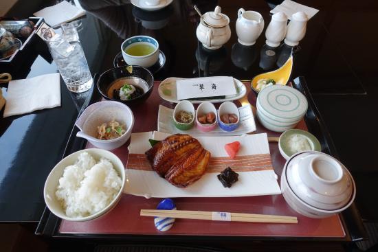 Hotel Passage Kinkai: 朝の和食