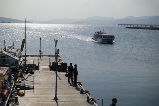 Hotel Passage Kinkai : 長崎空港ホテルへの渡船、船着場