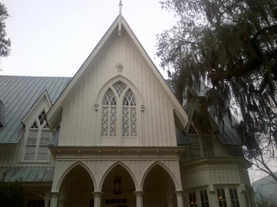 Rose Hill Mansion Gothic Revival Style Windows