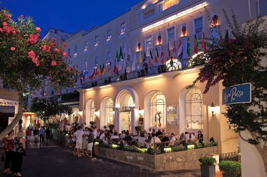 Grand Hotel Quisisana: Entrance
