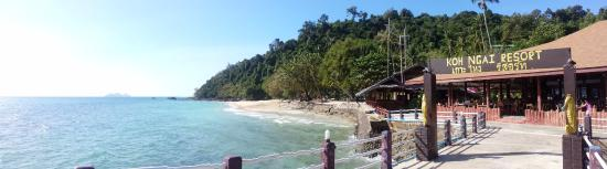 Ko Ngai, Thailand: dal pontile d'arrivo...