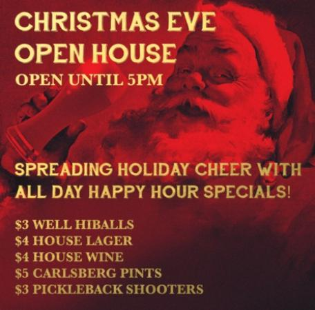 Oceanside Yacht Club Public House Christmas Eve Open At JRG Houses