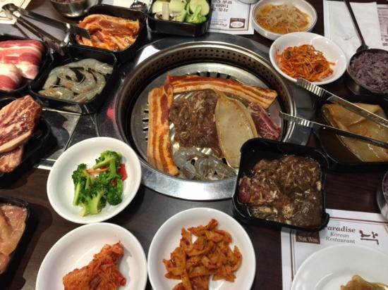 menu picture of nak won korean restaurant richmond hill. Black Bedroom Furniture Sets. Home Design Ideas