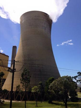 Yallourn North, Australia: Yallourn power station