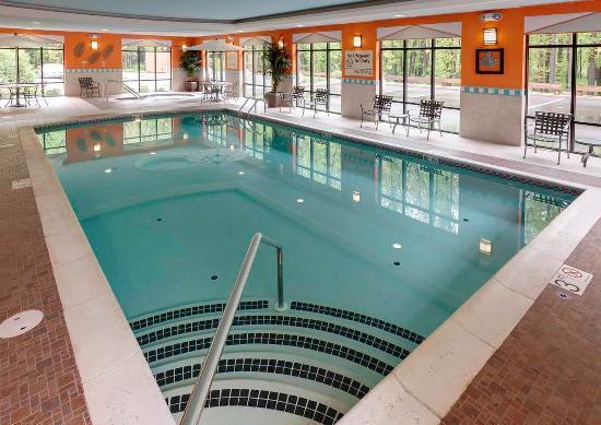 Indoor Heated Pool Picture Of Hampton Inn Springfield