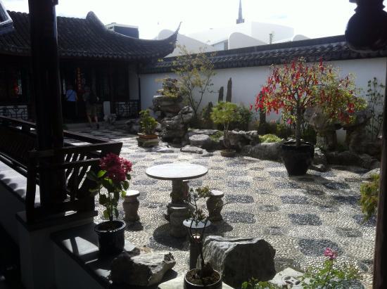 Dunedin Chinese Garden The Courtyard