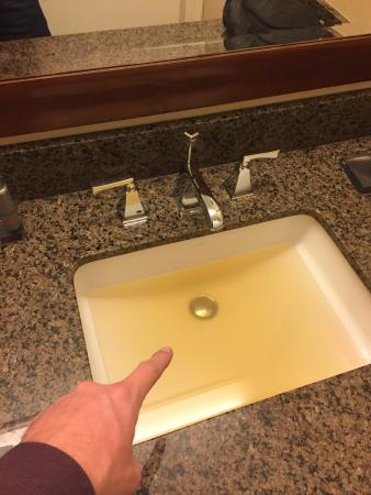 Gross Yellow Orange Water In Showers And Sinks Then They Charge