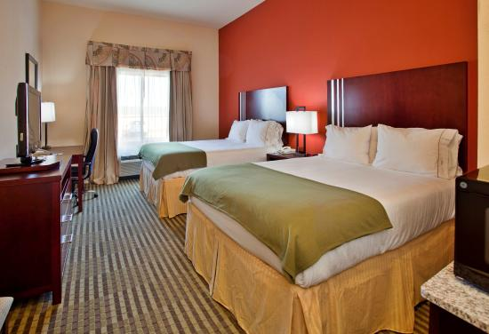Holiday Inn Express Hotel & Suites Guthrie-North Edmond: Double Bed Guest Room