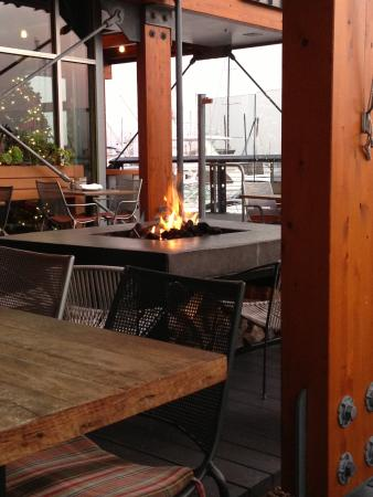 outdoor fire pit picture of jimmy s famous american tavern san rh tripadvisor ca