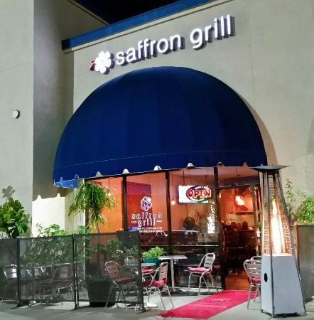 Saffron Grill Front Door Dining Room