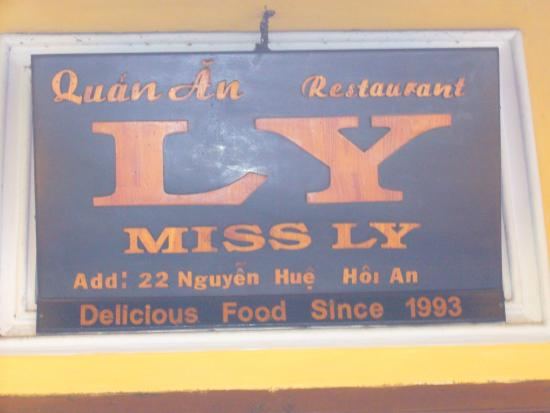Miss Ly Cafe Image