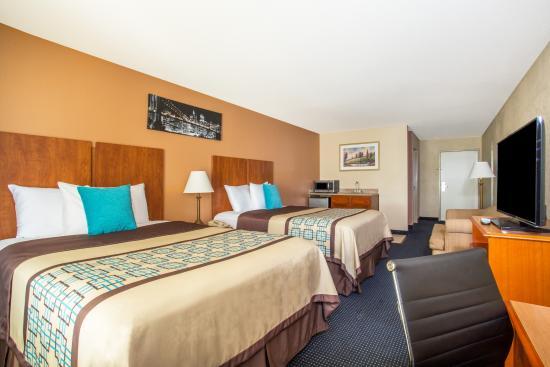 Days Inn & Suites Thibodaux: Double Bedroom Suite