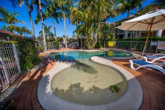Beaches Serviced Apartments: The pool is perfect