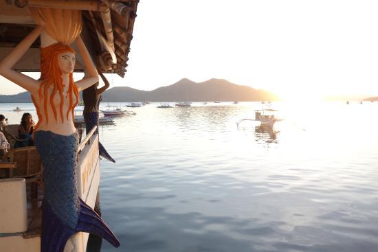 La Sirenetta : View at sunset