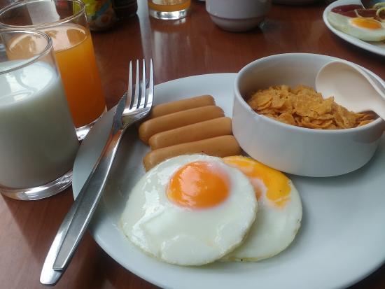 Bangkok City Suite: setiap hari menu yang sama