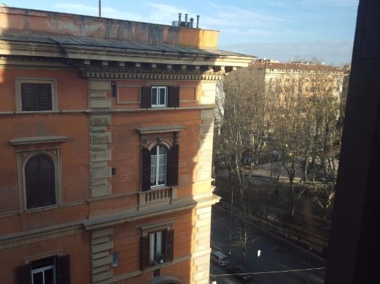 Hotel Orazia: Вид из окна