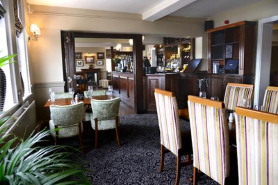 The Bromley at Fiskerton: The Bromley dining area