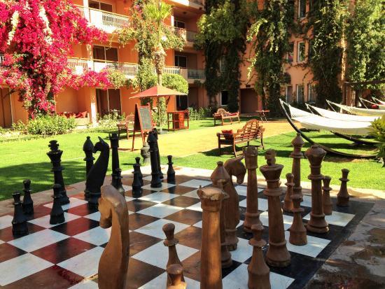 Sofitel marrakech lounge and spa hotel maroc voir les - Piscine sofitel marrakech ...