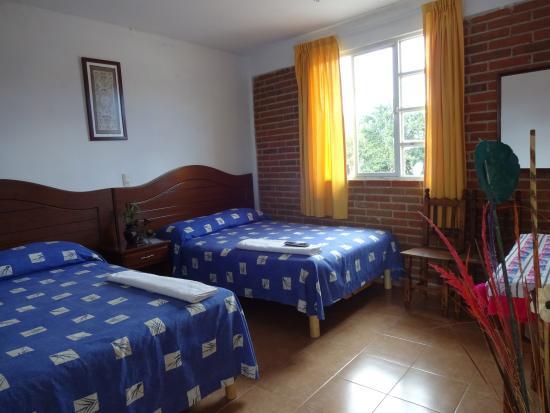 Yanhuitlan, Mexico: Double room