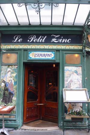 Paris, France: le petiti zinc-zona st.Germain de pres