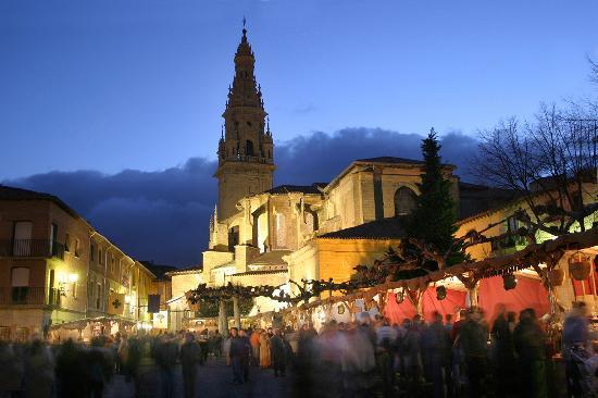 La Rioja, Espagne : Medieval market in Santo Domingo de la Calzada