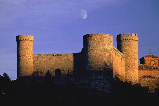 La Rioja, Espagne : Cornago castle