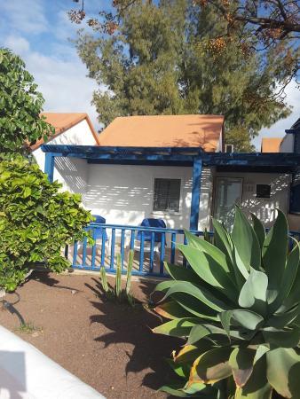Aldiana Fuerteventura: Zimmer Terasse