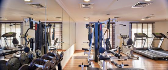Arabian Dreams Hotel Apartments: Gym