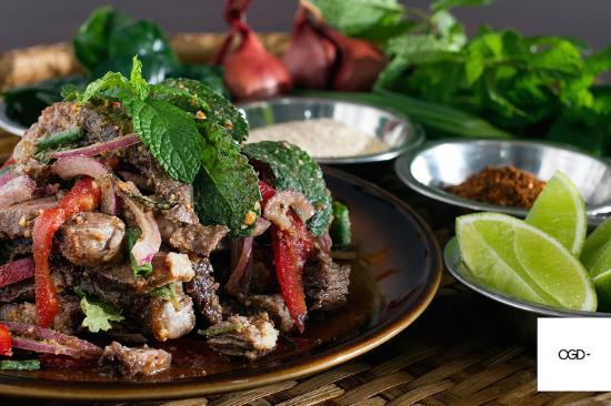 Esk, Australië: Beef Salad