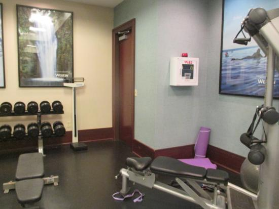 The Westin Mount Laurel: Gym facilities
