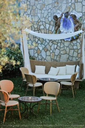 Solofra Palace Hotel & Resorts: allestimenti terrazza