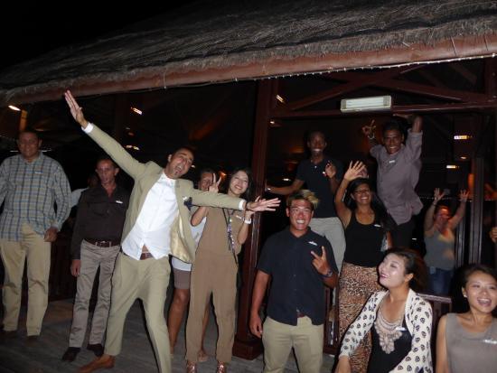 Kanifinolhu Island: équipe GO chaleureuse et irréprochable