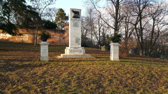 Monument near Castle in Brno