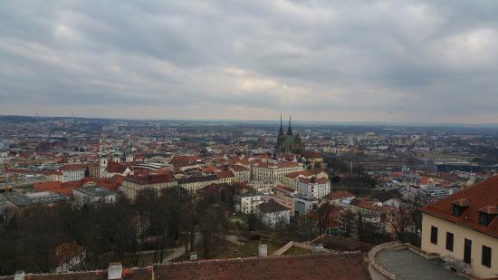 View of Brno from Spillberk Tower