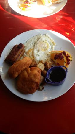 Gracie Joe's Cafe: Full breakfast (with NL touton)